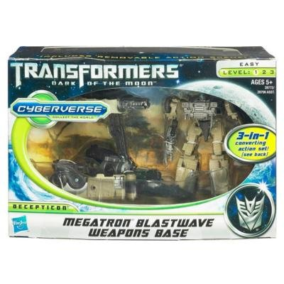 Transformers III Cyberverse 3 in 1 Action Set(4ct)