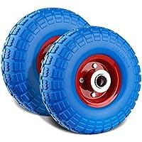 Speed Rueda para carretilla PU Rueda goma ruedas Cochecitos de rueda para carretilla goma Cilindro de rueda de poliuretano