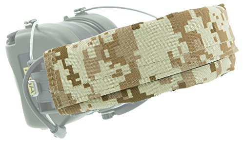 Kinder Desert Digital Camo (MSA Sordin Supreme PRO X Ersatz-Kopfbänder | 1 Stück Stoffkopfband | Material: PVC Polyester | Wüsten-Digital Camouflage)