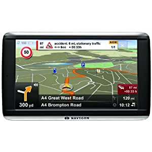 Navigon 72 Plus GPS Europe Ecran 5'' (12,7 cm) 4 Go TMC Premium édition