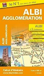 Plan de la ville d'Albi et de son agglomération - Echelle : 1/10 500
