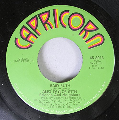 alex-taylor-with-friends-and-neighbors-45-rpm-baby-ruth-all-in-line