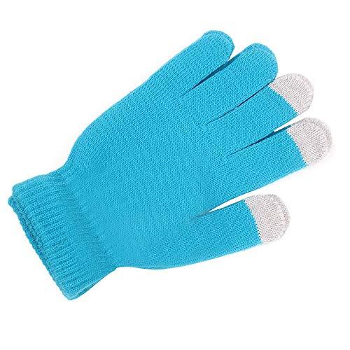 ZHANGYUGEGE Winter weibliche Gestrickte Handschuhe Warme DREI Rippen niedlichen Fäustlinge Dicke...