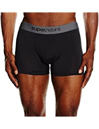 super natural Herren Funktionsboxershorts M Base Mid 175