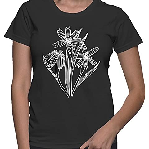 T-shirt da donna con Maglietta a maniche