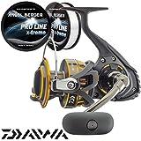 Daiwa BG Pilkrolle Meeresrolle gratis Pro Line x-treme Schnur (5000)