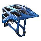 Scott Spunto Kinder Fahrrad Helm Gr. 50-56cm blau 2018