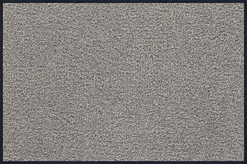 wash+dry Fußmatte Hellgrau 60x90 cm
