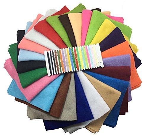 24pcs-20cm-20cm-8-x-8-pouces-Feutre-acrylique-Tissu-non-tiss-doux-Diy-Artisanat-Travail-Patchwork-Couture-Couleur-mlange-avoir-une-paisseur-de-14-mm
