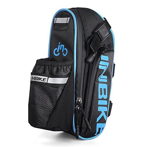 Inbike Fahrradtasche für Fahrrad mit Handyhalterung Blau-2