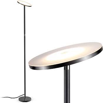 Floor Lamp Teckin Wifi Smart Uplighter Dimmable Led Floor Lamp Compatible With Amazon Alexa