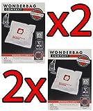 Rowenta 2x MW Wonderbag Compact 10PZ WB305120Staubsaugerbeutel