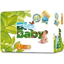 Moltex Bio Baby - Pañales Biodegradables, Tamaño 1, 40 unidades[Pack ...