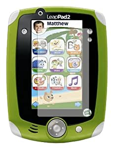 6 x Membrane Screen Protectors for LeapFrog LeapPad 2 II Explorer - Crystal Clear (Glossy), Retail Package, Installation Kit