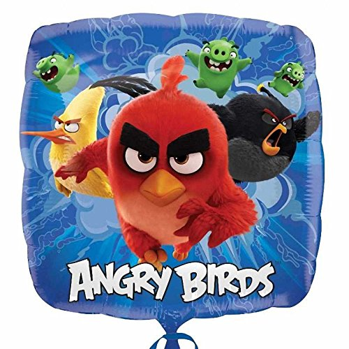 Amscan International 8.232.396,5cm Angry Birds Film Standard Folie Ballon