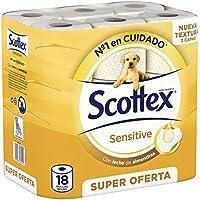 Scottex Sensitive Papel Higiénico - 18 rollos
