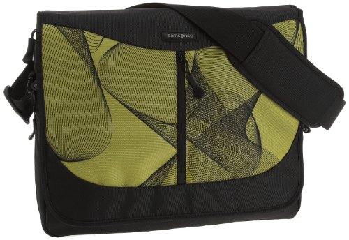 Samsonite Laptoptasche URBNATION LAPTOP MESSENGER EXP GREEN LINES