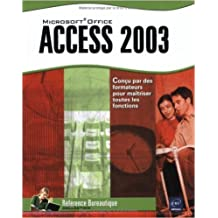 Access 2003 de Corinne Hervo ( 1 juin 2005 )