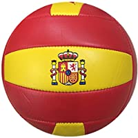 Durabol Balón de voleibol España color Amarillo-Rojo, Volly Ball