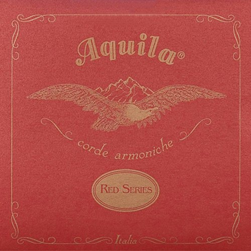 Aquila 76U Tenor-Ukulele G-Saite Red Series 76U (4th G) 8-string, nicht umsponnen