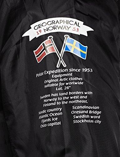 GEOGRAPHICAL NORWAY Herren Regenjacke Brest Schwarz