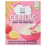 #8: Nestlé CERELAC Infant Cereal Stage-3 (10 Months-24 Months) Wheat-Rice Mixed Fruit 300g