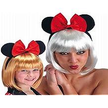 Carnaval Orejas accesorios diadema Minnie Mouse con arco 1Pcs 05163