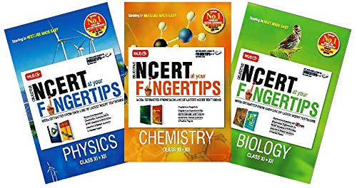 NCERT At Your Fingertips (NEET) Physics,Chemistry,Biology 2019-2020