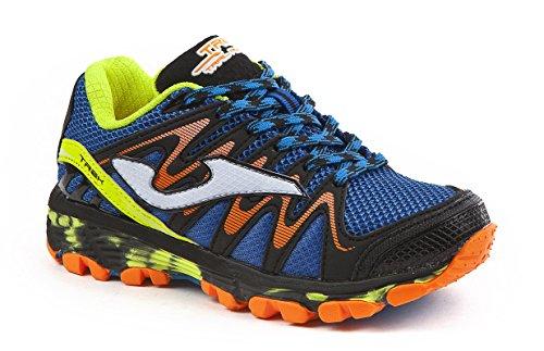 JOMA Trek Jr, Scarpe da Trail Running Bambino, Blu (Royal 704), 35 EU