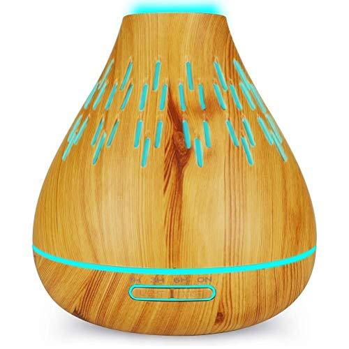 400 ml aromaterapia esencial difusor fragancia aceite