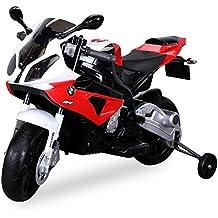 Kinder Elektromotorrad Kindermotorrad Lizenziert BMW S 1000 RR Elektro Kinderfahrzeug Spielzeug für Kinder Kinderspielzeug