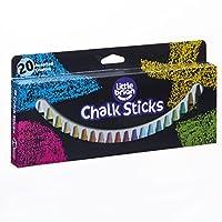 Brian Clegg LBCS05CA20 Paint Sticks Chalk-20 Assorted, Multi