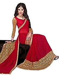 Saree(saree By Saree Mandir Sarees For Women Party Wear Half Sarees Offer Designer Below 500 Rupees Latest Design...