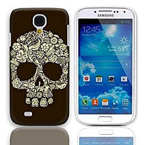 Skull Design Hard Case with 3-Pack Screen Protectors for Samsung Galaxy S4 mini I9190