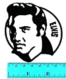 Elvis Presley King of Rock and Roll Pop Rockabilly Country Blues - Parche con logotipo de música para camiseta, parche para coser, planchar sobre el símbolo bordado, insignia para ropa, disfraz