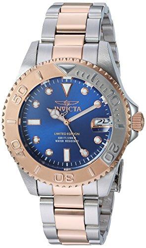 Invicta 24635 Pro Diver  Damen Uhr Edelstahl Quarz blauen Zifferblat