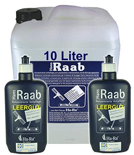 Ha-Ra Konzentrierte Vollpflege | 10 L Kanister | incl. 2 Dosierflaschen (leer)