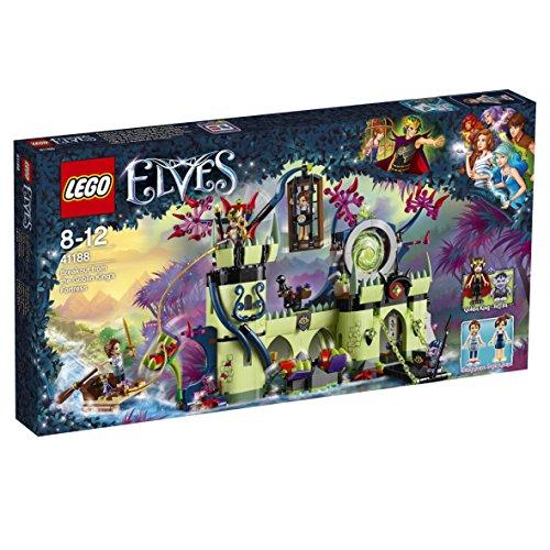 LEGO – 41188 – Elves – Jeu de Construction – L'évasion de la forteresse du roi Gobelin