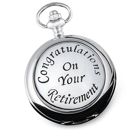 Hombres del reloj de bolsillo de jubilación