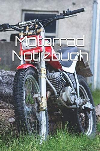 Motorrad Notizbuch: Motorrad Oldtimer Zweirad Benzin
