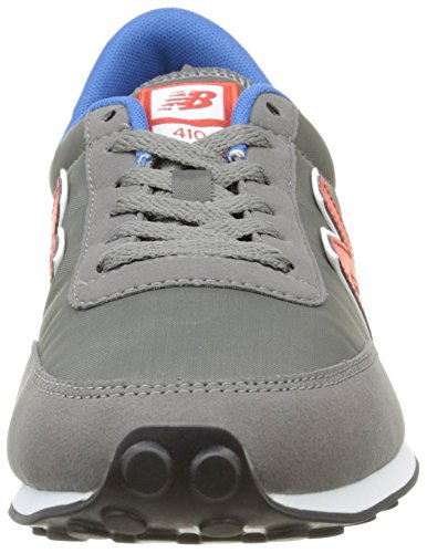 New Balance U410V1, Baskets Basses Homme, Mehrfarbig Gris (Grey/030)
