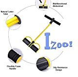 #5: Izoo Best Body Trimmer - Latex Waist Reducer, Unisex Exerciser, Perfect Strengthener, Extender, Trainer, All In One Stretcher, Extensor, Gripper, Tummy Fat Burner | Gym Hand Strength Exercise Equipment for Slimming & Strengthening Stomach, Legs, Lower Back, Wrist, Fingers, Forearms | For Fitness, Sports, Tennis, Boxing, People Suffered from Muscle Pain & Injury, Weight Loss | For Men, Women, Kids | Portable, Comfortable, Lightweight, Quick and Easy to use | Gym, Office, Home usage | Great Gift