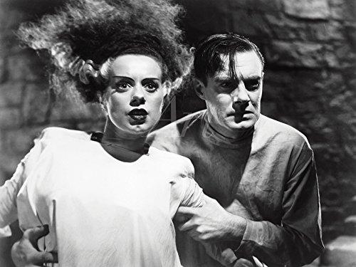 lder I Wandtattoo Wandsticker Wandaufkleber 40 x 30 cm Film TV Stars Foto Schwarz Weiß D0CY Frankensteins Braut ()