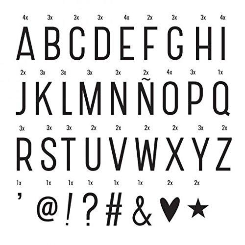 A Little Lovely Company 0520 – 016 – Lettres et symboles