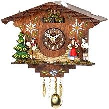 ISDD Cuckoo Clocks - Orologio a cucù della Foresta Nera, batteria inclusa