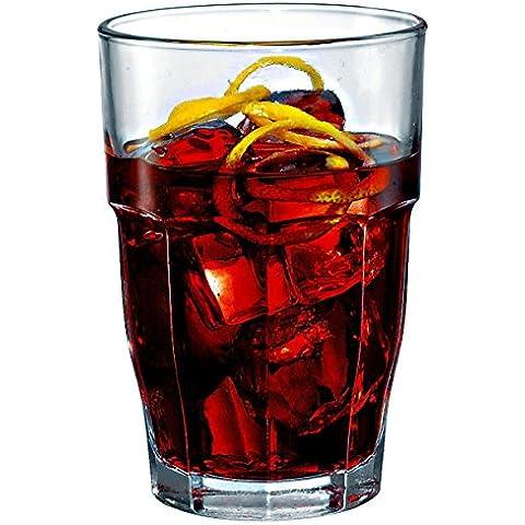 Bormioli Rocco Rock Bar Long Drink 37 cl Verde