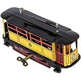 Juguete de Vehiculo Coleccion Vintage Tranvía Modelo Tin Resorte Adulto