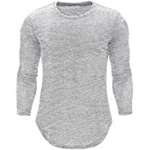 Jerseys de Hombre, BBestseller Sudadera para Hombre de otoño,Camiseta Casual de Manga Larga