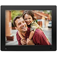 NIX Advance - 12 inch Digital Photo Frame, for SD, USB, Various Display Modes, for Pictures and Videos, Energy-saving Motion Sensor, Black - X12D
