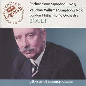 Symphony No. 3/Symphony No. 8 (Lpo, Boult)
